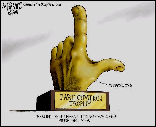 participation trophy parody